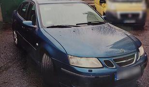 Śląskie. Policja w Katowicach ujęła sprawców kradzieży saaba i odzyskała samochód.