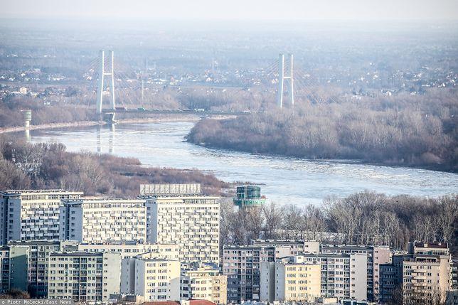 Warszawa. Smog w stolicy w piątek 29 listopada 2019