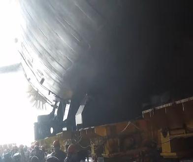 Rosja: Atomowy okręt podwodny Krasnojarsk zwodowany
