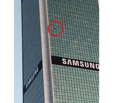 Wiemy, kim jest człowiek-pająk z Marriotta. 170 m po pionowej ścianie