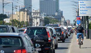 Warszawa. Fotoradary na moście Poniatowskiego. Miasto czeka na zgodę konserwatora