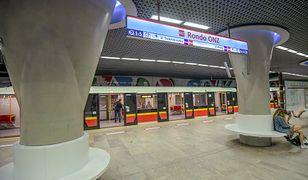 Wpadek na stacji metra Rondo ONZ