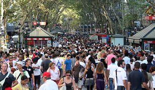 La Rambla jest jedną z najsłynniejszych ulic na świecie