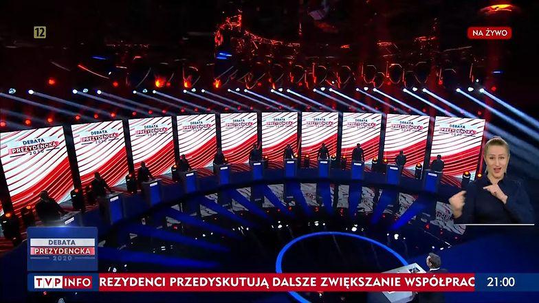 Kto wygrał debatę prezydencką? Sonda TVP unieważniona. Powód?