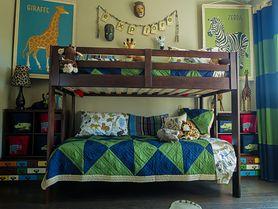 Łóżka piętrowe dla dzieci – rodzaje, bezpieczeństwo, wymiary