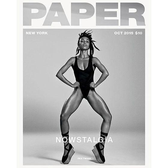 """FKa Twigs na okładce """"Paper Magazine"""""""