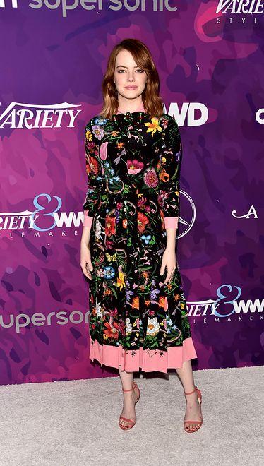 Emma Stone na imprezie Variety and WWD Stylemakers 2016