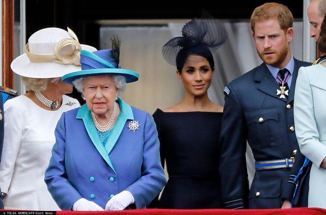 Meghan nie wzięła udziału w naradzie z królową. Chodziło o poufność