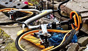 Kraków. Kierowca potrącił rowerzystę i uciekł. Policja szuka sprawcy