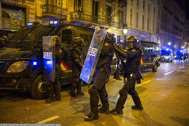 Katalonia. Protesty w hiszpańskim regionie trwają już tydzień