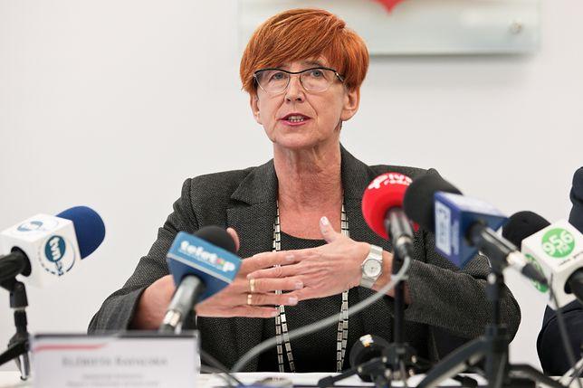 Minister rodziny Elżbieta Rafalska