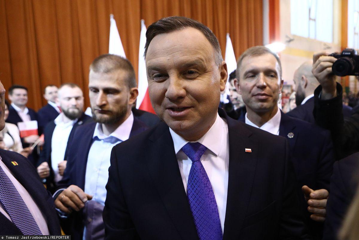 Wybory prezydenckie 2020. Andrzej Duda odwołuje duże spotkania w kampanii