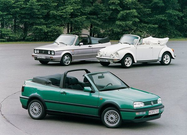 1. Volkswagen Golf Cabriolet