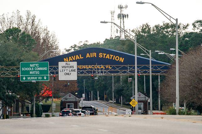 Stany Zjednoczone. Na zdjęciu Naval Air Station Pensacola, gdzie doszło do ataku