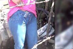 Pas cnoty po meksykańsku. Przez 12 lat nosiła jeansy zapięte na kłódkę