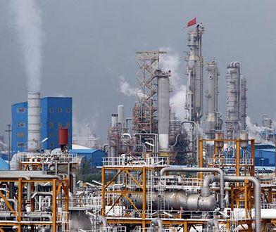 Wydobycie gazu w Iranie