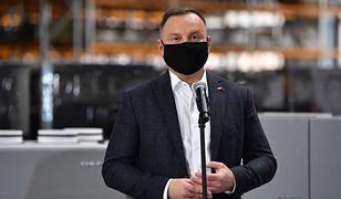 Koronawirus pokrzyżował plany prezydenta. Andrzej Duda odwołuje wizytę