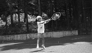 Szarapowa zaczęła grać w tenisa w wieku czterech lat
