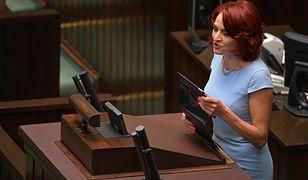 Bernadeta Krynicka uważa, że matki osób niepełnosprawnych, które protestowały w Sejmie, stosowały przemoc wobec swoich dzieci