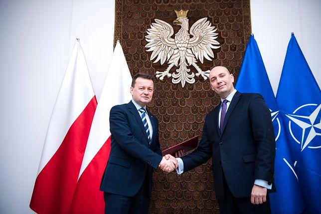Bartosz Kownacki, Dominik Smyrgała i Bartłomiej Grabski poza MON. Są nowe nazwiska