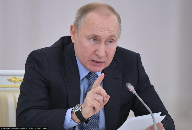 """Putin oskarża Polskę. Zagraniczny dziennik ostrzega przed """"niebezpiecznym przeinaczaniem faktów"""""""