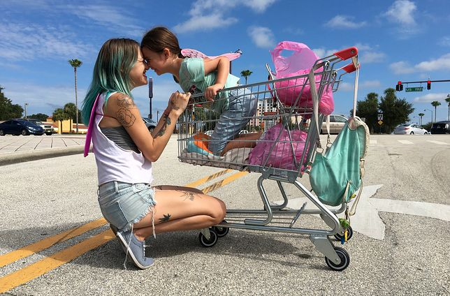 "Kadr z filmu ""The Florida Project"""