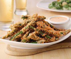 Przepis na frytki z fasolki szparagowej. Pyszna alternatywa lubianego dania