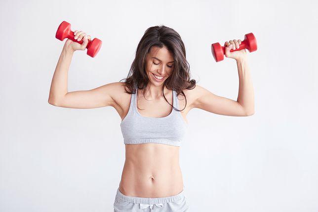 Trening ramion z Mel B - zasady i opis ćwiczeń
