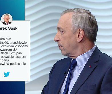 """""""Absolutny skandal!"""". Bogdan Zdrojewski o decyzji Andrzeja Dudy"""