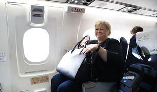Marek Kuchciński pewnie nie uwierzy. Premier bogatej Norwegii lata zwykłym rejsowym samolotem.