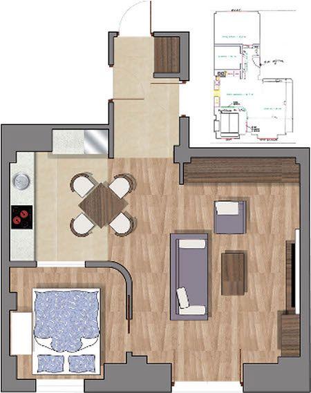 Trzy pokoje z dwóch cz.1
