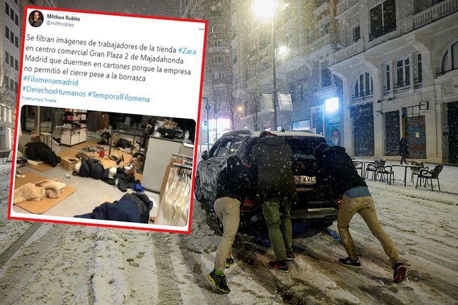 Media społecznościowe zalane są obrazkami z Hiszpanii