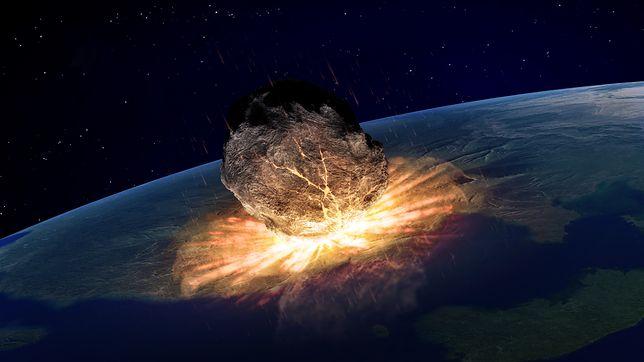 Około 66 milionów lat temu asteroida uderzyła w Ziemię
