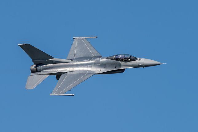 Myśliwiec F-16 rozbił się w Niemczech