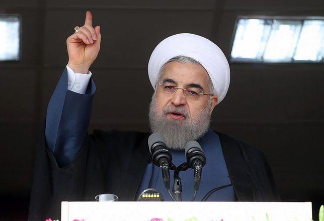 Prezydent Iranu Hasan Rowhani apeluje do władz Turcji o rozwagę.