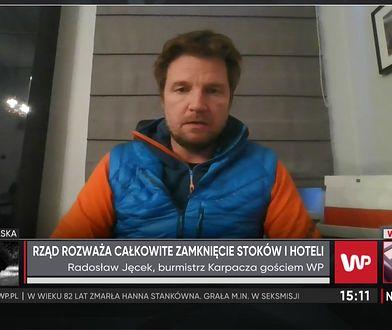 Burmistrz Karpacza o przyjazdach rodziców z dziećmi i sytuacji hoteli