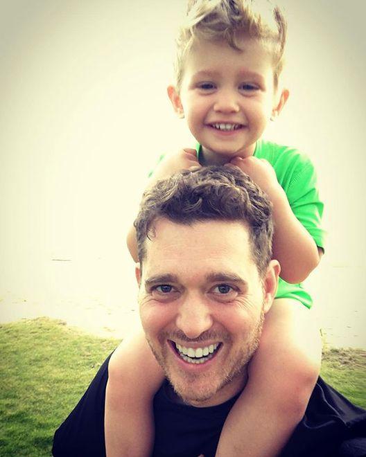 Michael Bublé z synkiem Noah