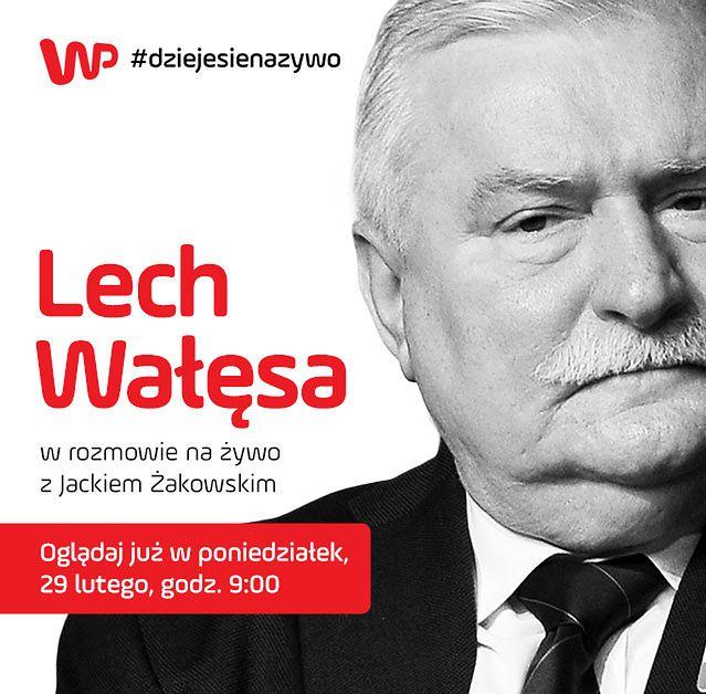 Masz pytanie do Lecha Wałęsy? Zadaj je