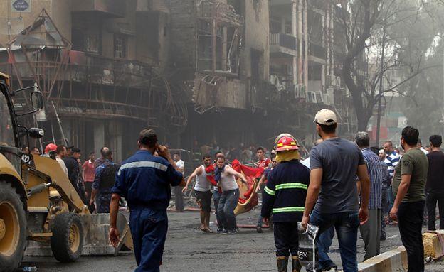 Tragiczny bilans zamachu w Bagdadzie. Co najmniej 213 zabitych