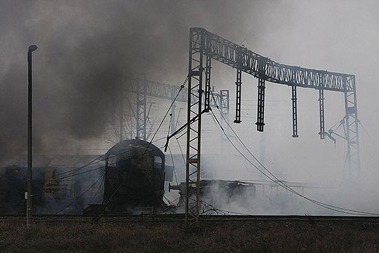 Milionowe straty po zderzeniu pociągów w Białymstoku