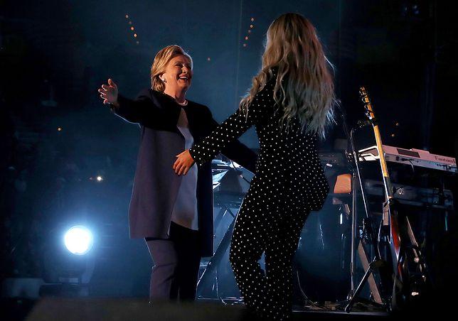Beyonce na wiecu Hillary Clinton!