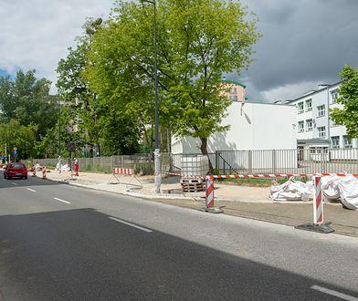 Warszawa. Zmiany na ulicy Żytniej (fot. Zarząd Dróg Miejskich)