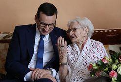 Premier Mateusz Morawiecki odwiedził najdłużej żyjącą obywatelkę Polski