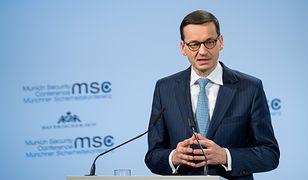Mateusz Morawiecki podczas wizyty w Berlinie został zapytany o nowelizację ustawy o IPN