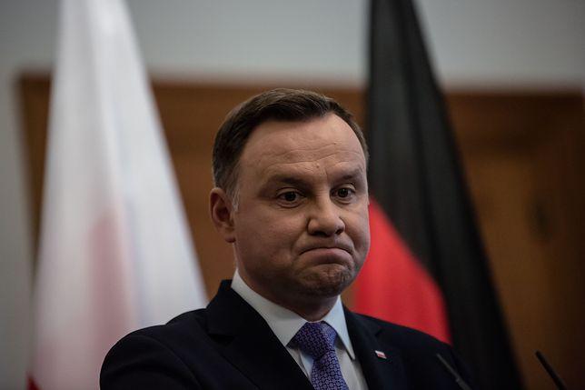 """Andrzej Duda przekazał prezydentowi USA wyrazy """"głębokiego współczucia"""""""