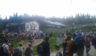 Do Karpacza w tym sezonie wybrało się sporo turystów