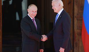Faux-pas Bidena w Genewie? Biały Dom o zaufaniu do Putina