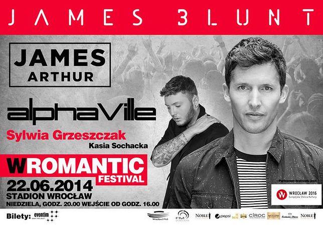 James Blunt gwiazdą pierwszej edycji festiwalu WROMANTIC