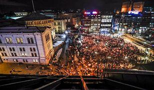 W manifestacji wzięło udział kilka tysięcy osób