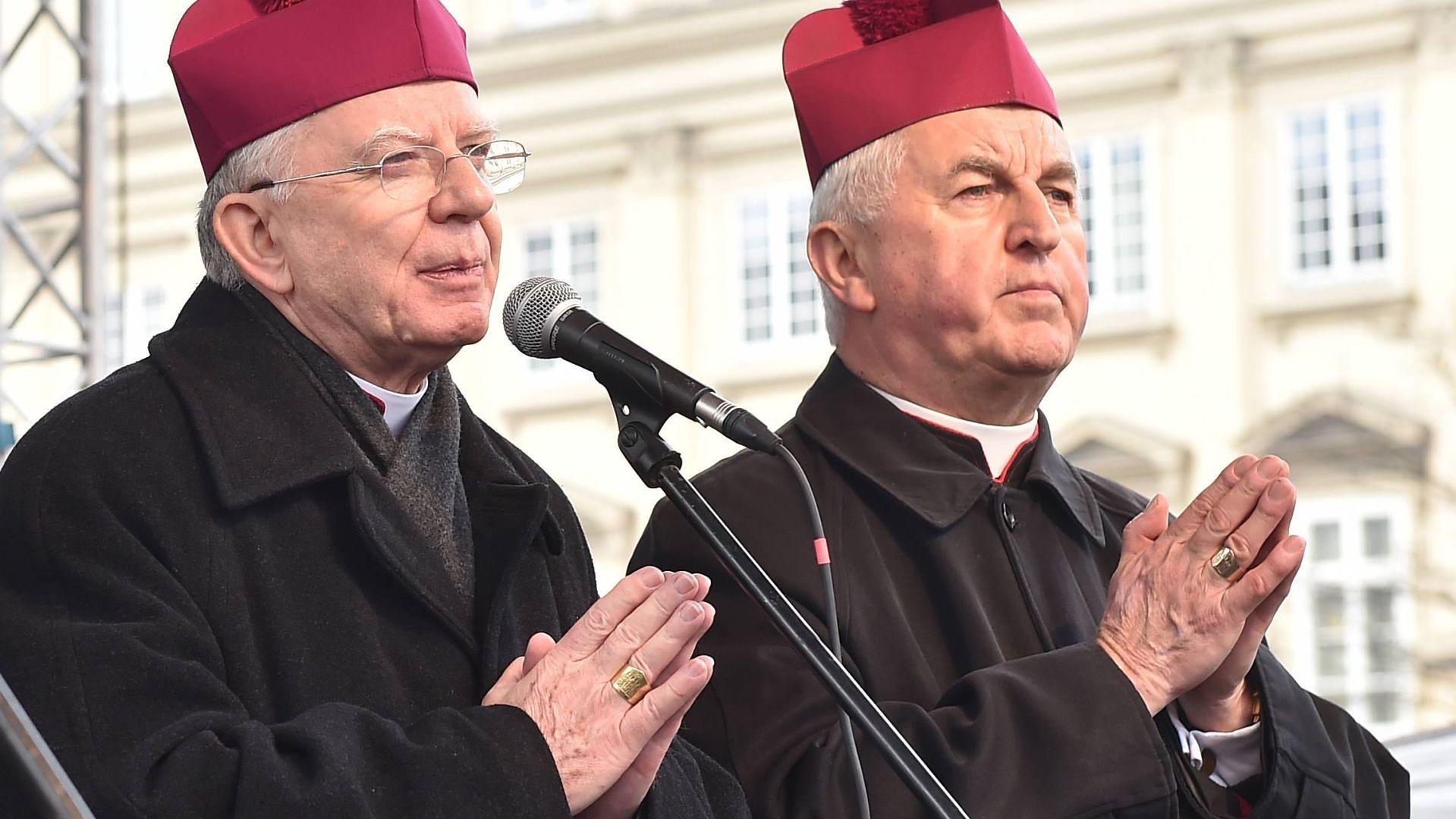 Abp Marek Jędraszewski i bp Jan Szkodoń